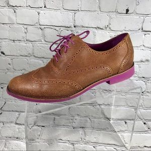 Cole Haan suede brown Oxford